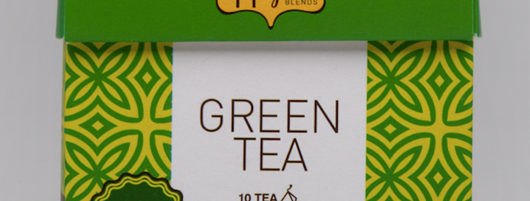 Green Tea Organic Tea Pyramid Bag