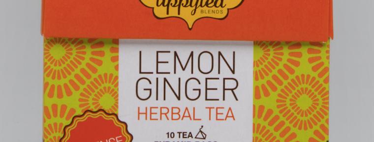 Lemon Ginger Tea Pyramid Bag
