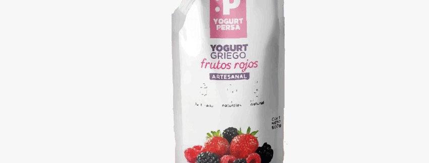 Yogurt Griego Frutos Rojos