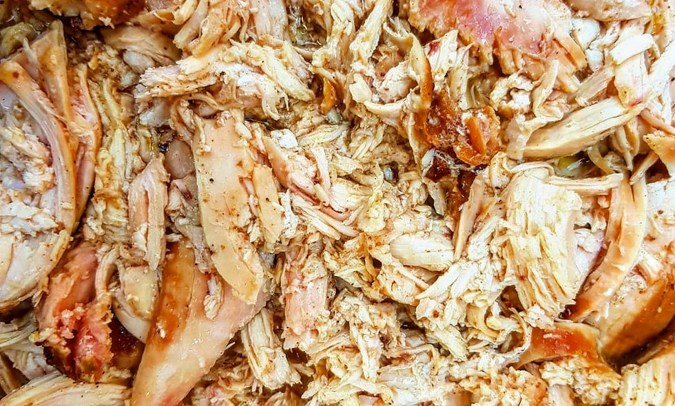 Pulled Chicken (150gr) o (500gr)