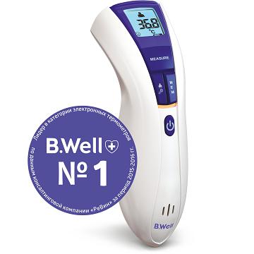 Бесконтактный инфракрасный термометр B.Well WF-5000