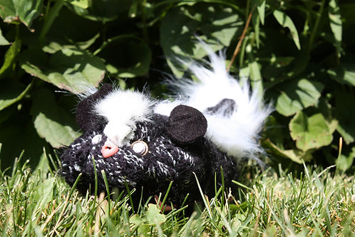 fat skunk plush