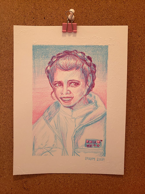 carrie fisher study