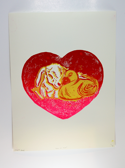 love is real print