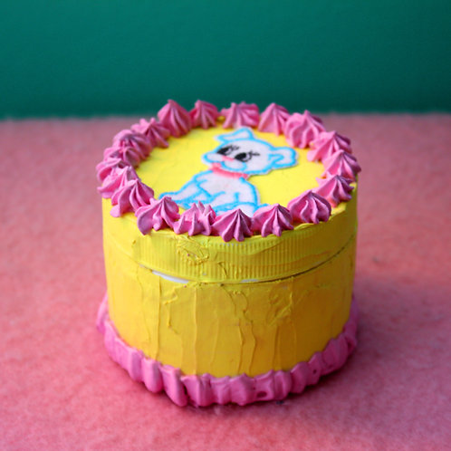doggy cake canister