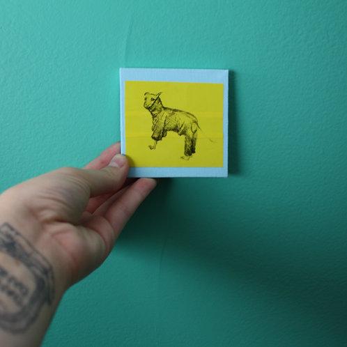 mini doggy bitmap canvas