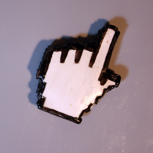 old school mouse pointer magnet