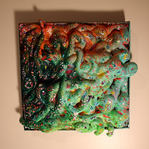 strange resin art piece #1