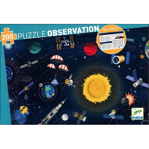 Djeco Puzzle Observation The Space