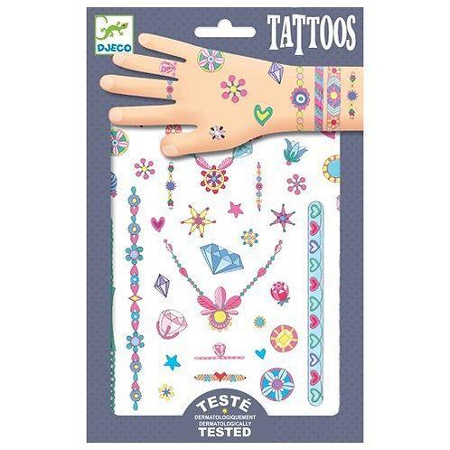 Djeco Tattoos Jenni's Jewels