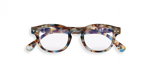 Izipizi Screen Glasses JUNIOR #C The Retro - Blue Tortoise