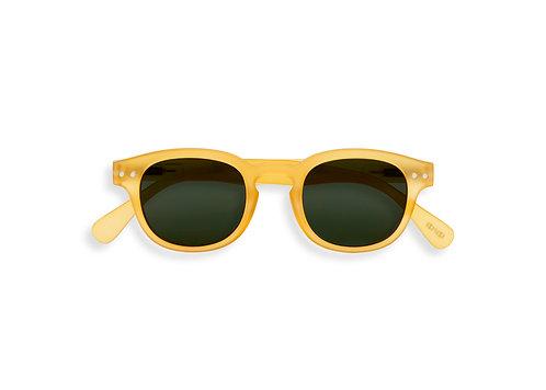 Izipizi Junior Shape #C The Retro Yellow Honey