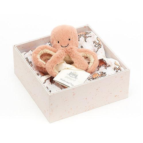 Jellycat Odell Octopus Gift Set