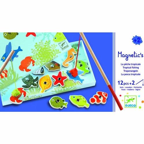 Djeco Magnetic's Fishing Tropic