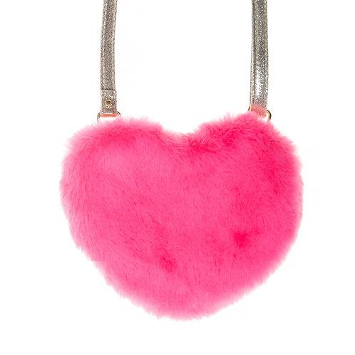 Rockahula Love Heart Fur Bag