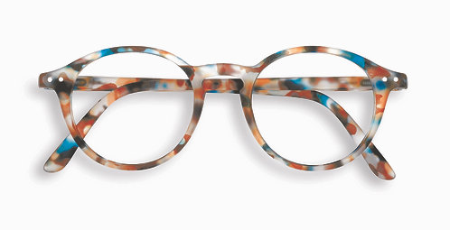 Izipizi Screen Glasses #D The Iconic - Blue Tortoise