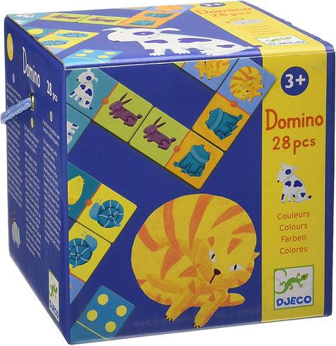 Djeco Domino Puzzle Colours