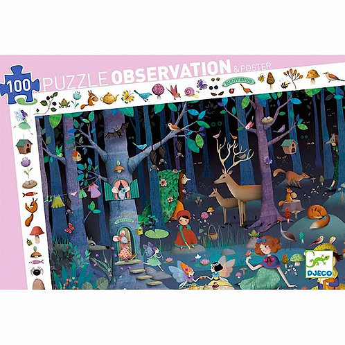 Djeco Puzzle Observation Enchanted Forest