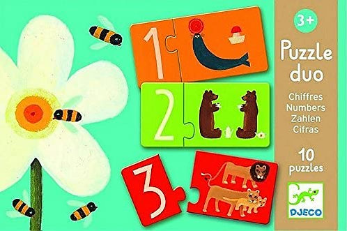 Djeco Puzzle Duo Numbers