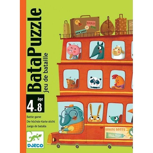 Djeco Cards Game Batapuzzle