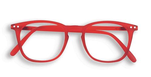 Izipizi Screen Glasses #E The Trapeze - Red