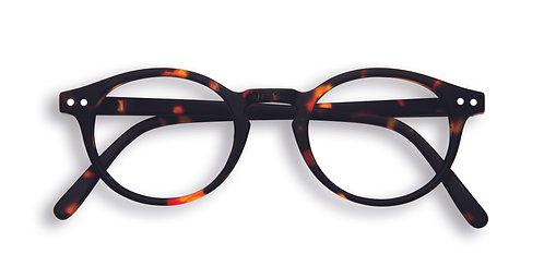 Izipizi Screen Glasses #H The Small Face - Tortoise