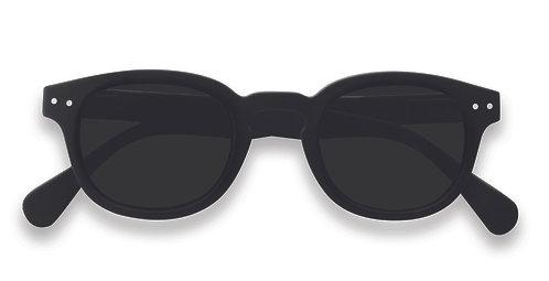 Izipizi Sunglasses - Adult Shape #C The Retro - Black