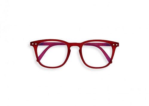 Izipizi Screen Glasses JUNIOR #E The Trapeze - Red