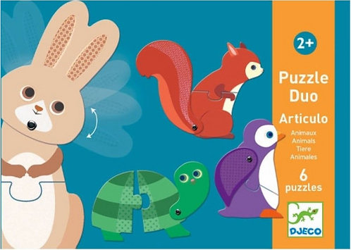 Djeco Puzzle Articulo Animals