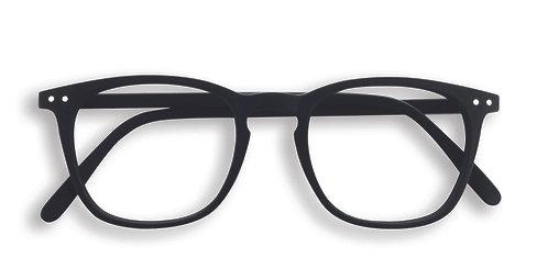 Izipizi Screen Glasses #E The Trapeze - Black
