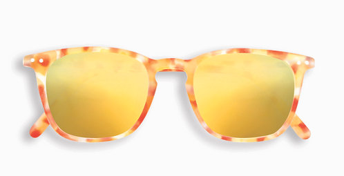 Izipizi Adult Shape #E The Trapeze - Yellow Tortoise Mirror
