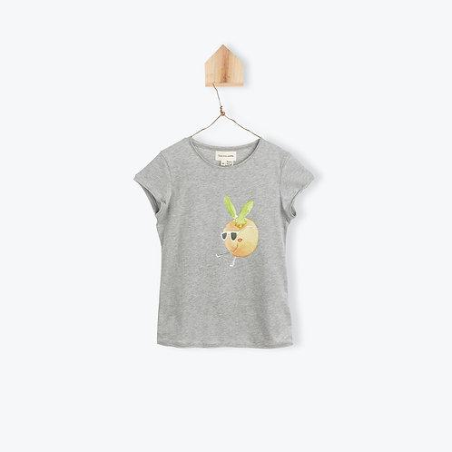 Arsène et les Pipelettes T-Shirt Grey Clementine