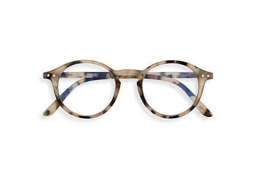 Izipizi Screen Glasses #D The Iconic - Light Tortoise