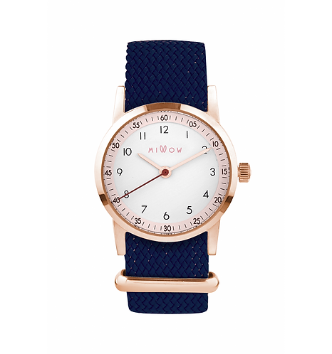 Millow Blossom Blue Braided Strap