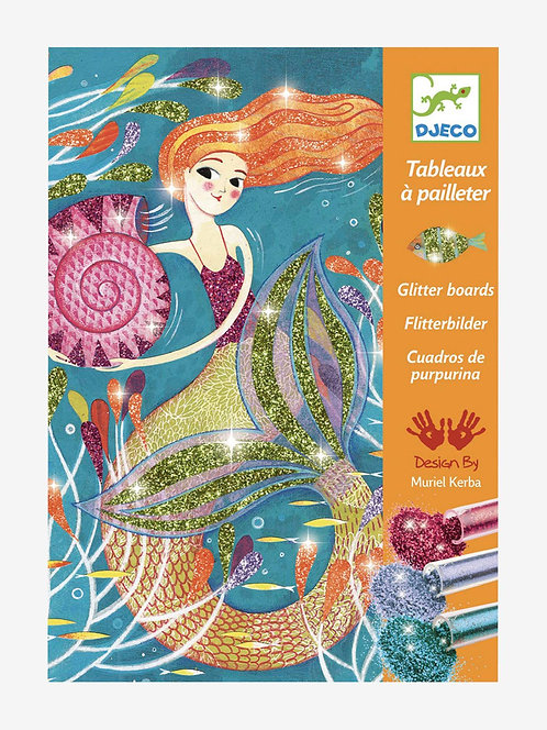 Djeco Mermaid Glitter Board