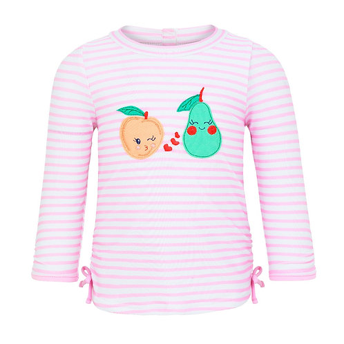 Sunuva Baby Girls Fruit Friend Rash Vest