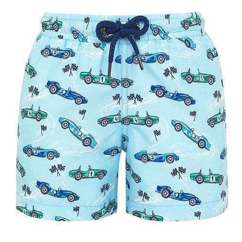 Sunuva Boys Vintage Car Swim Shorts