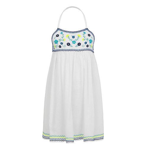 Sunuva Girls Mexicana Embroidered Beach Dress
