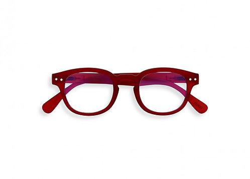 Izipizi Screen Glasses JUNIOR #C The Retro - Red
