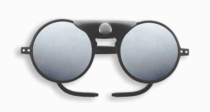 Izipizi Adult Sun Glacier - The Round - Black