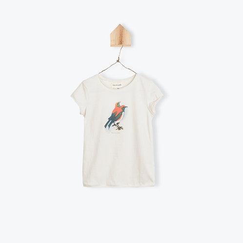 Arsène et les Pipelettes T-Shirt Off White Canaris