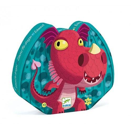Djeco Silhouette Puzzle Edmond the dragon