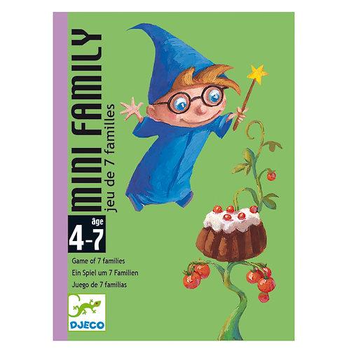 Djeco Cards Game Mini Family