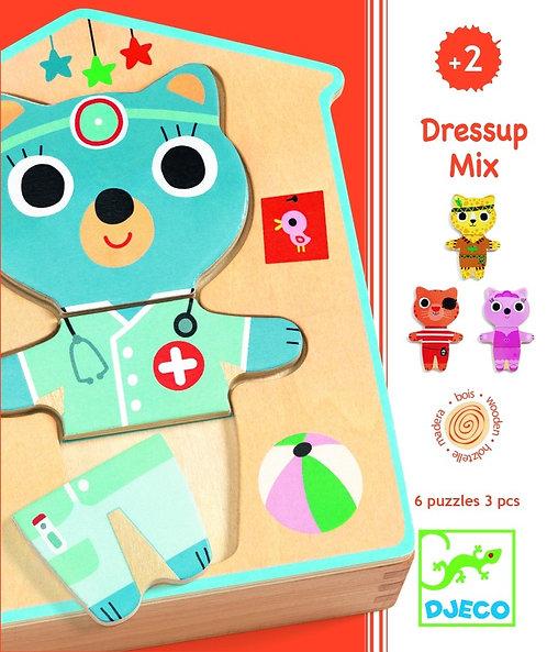 Djeco Puzzle Dress Up Mix