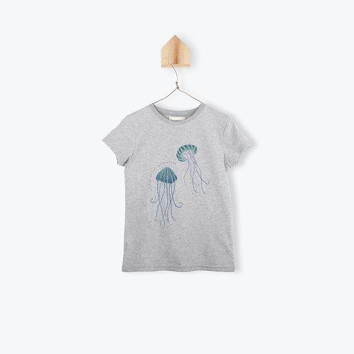 Arsène et les Pipelettes T-Shirt Jellyfish Grey