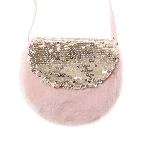 Rockahula Shimmer Sequin Fur Bag