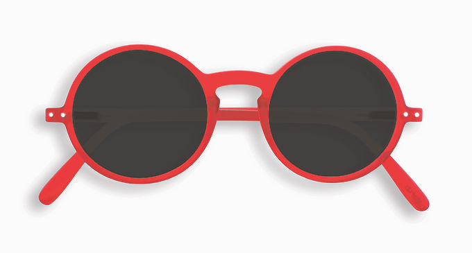 Izipizi Adult Shape #G The Round - Red