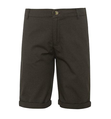 Sunuva Boys Khaki Cotton Tailored Shorts