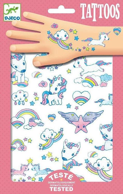 Djeco Tattoos Unicorn