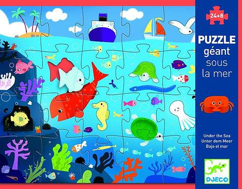 Djeco Giant Puzzle Under The Sea